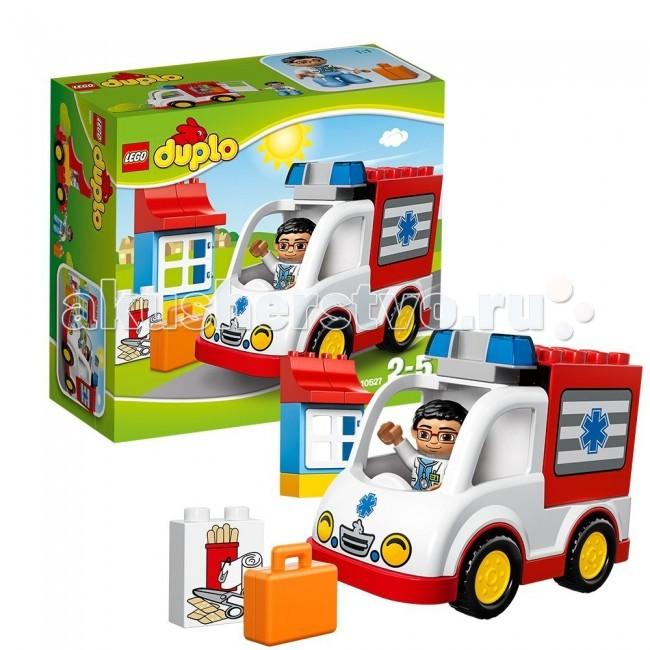 Lego Lego Duplo 10527 Лего Дупло Скорая помощь lego duplo 10826 лего дупло стеллосфера майлза