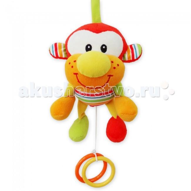 Подвесные игрушки MAPA baby Обезьянка музыкальная
