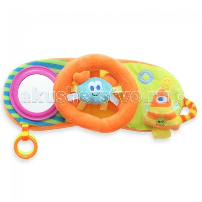 Развивающие игрушки MAPA baby Руль с пищащими элентами 13629