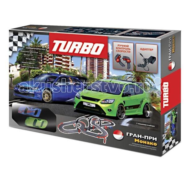 Turbo Трек 915 см с зарядкой от сети. 2 гоночные машинки 18057Трек 915 см с зарядкой от сети. 2 гоночные машинки 18057Трек с зарядкой от сети, 2 гоночные машинки 18057.   Длина трека 915 см  Размер коробки: 68*48,5*9,5 см   Рискованные виражи и скорость гонки привлекают внимание к Turbo как детей, так и их родителей.   Прекрасный вариант семейной игрушки, позволяющей устраивать настоящие соревнования!  Развивает у детей внимание, быстроту реакции и творческие способности.<br>