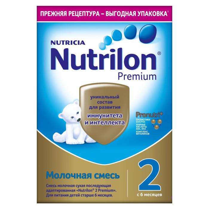 Купить Nutrilon Молочная смесь Premium 2, 6-12 мес. 600 г в интернет магазине. Цены, фото, описания, характеристики, отзывы, обзоры