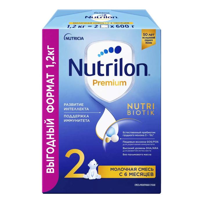 Молочные смеси Nutrilon Молочная смесь Премиум 2 PronutriPlus 6-12 мес. 1200 г, Молочные смеси - артикул:443504