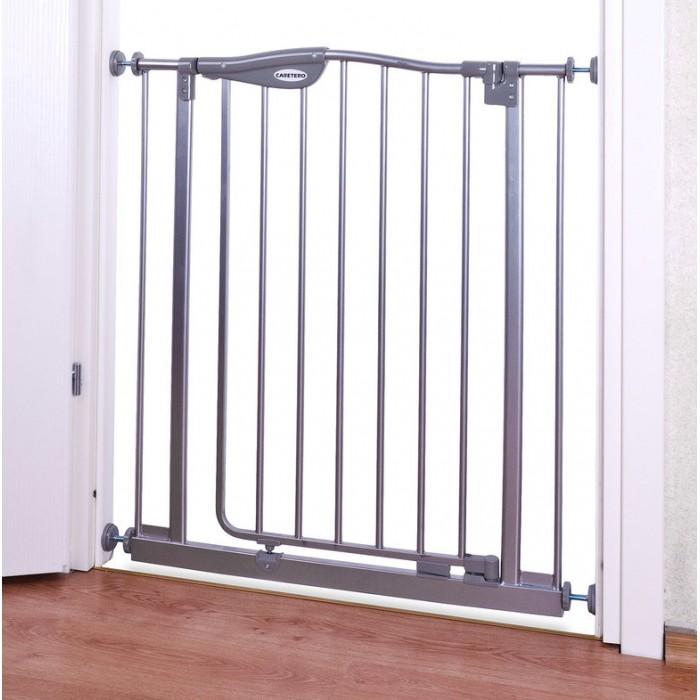 Безопасность ребенка , Барьеры и ворота Caretero Ворота безопасности металлические SafeHouse арт: 443934 -  Барьеры и ворота