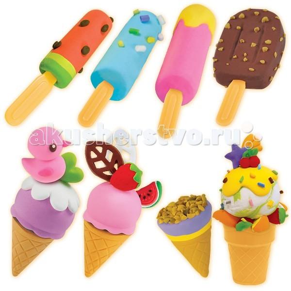 Всё для лепки Фабрика фантазий Набор массы для лепки Мороженое наборы для лепки играем вместе масса для лепки winx украшения кольца