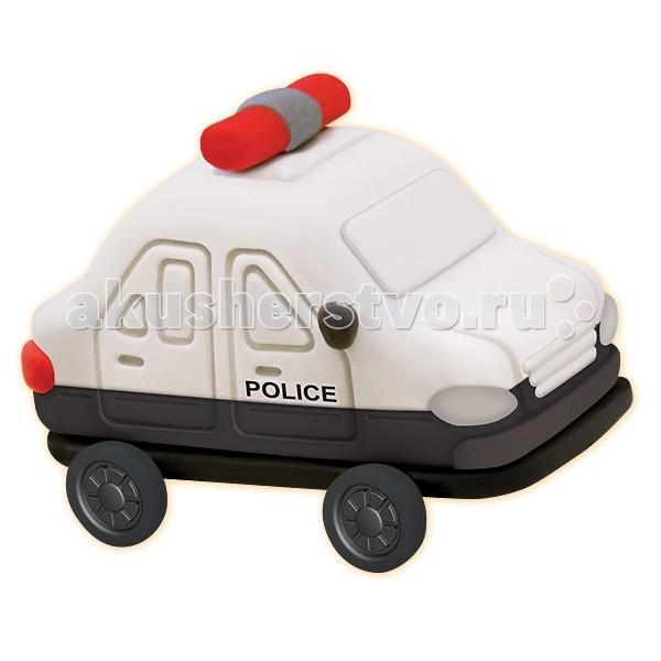 Всё для лепки Лавка Чудес Набор для лепки Полицейская машина набор для лепки из массы kinder club lovely my cat
