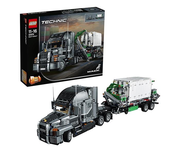 Купить Конструктор Lego Technic 42078 Лего Техник Грузовик MACK