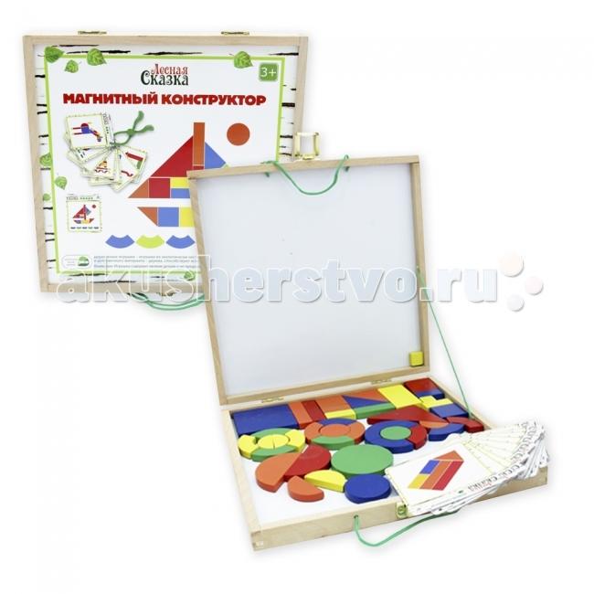 Деревянные игрушки Лесная сказка Магнитный конструктор, Деревянные игрушки - артикул:44541