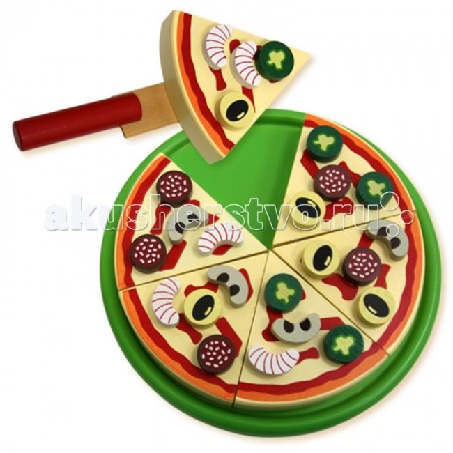 Деревянные игрушки Фабрика фантазий Пицца hasbro пицца
