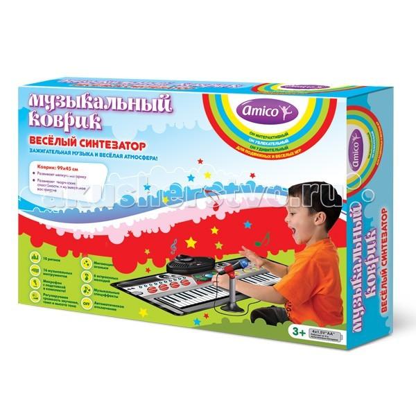 Игровые коврики Ami&Co (AmiCo) Веселый синтезатор 20606 игровые коврики amico коврик развивающий с дугами ферма