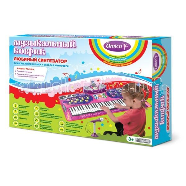 Игровой коврик Ami&Co (AmiCo) Любимый синтезатор 20605