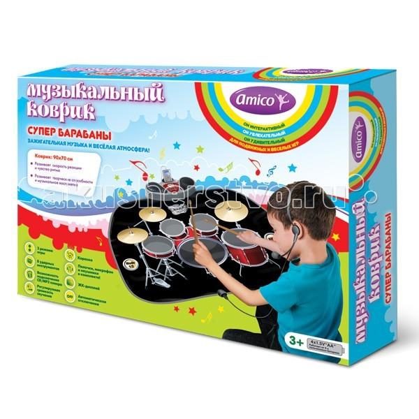Игровой коврик Ami&Co (AmiCo) Супер барабаны 20590