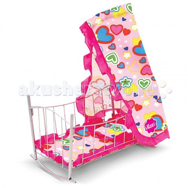 коляски для кукол mami 16424 Кроватки для кукол Mami 18971