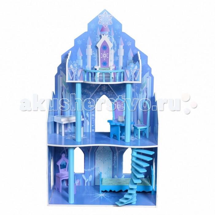 Кукольные домики и мебель Edufun Кукольный дом EF4111, Кукольные домики и мебель - артикул:446019