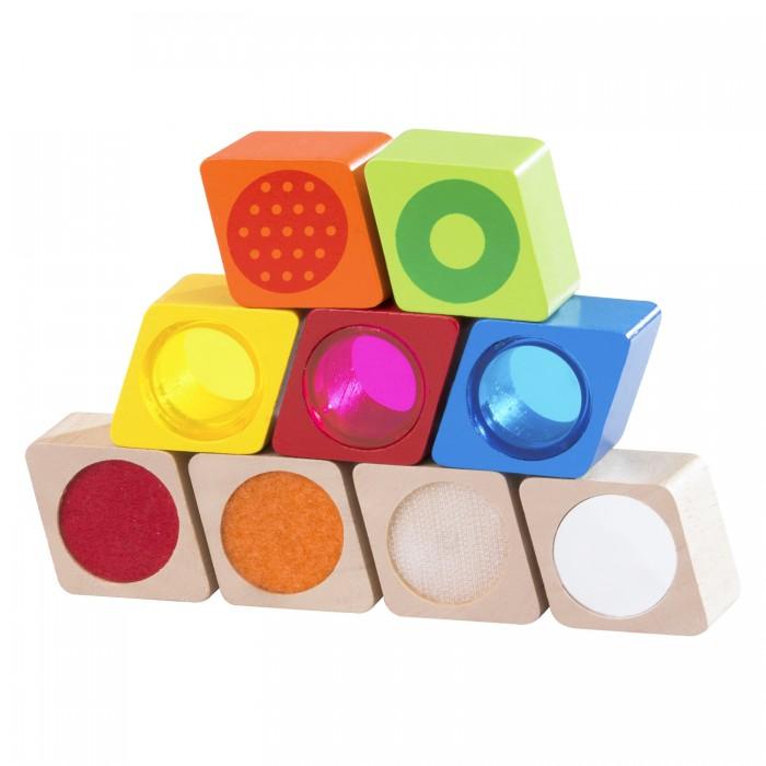 Деревянные игрушки Wonderworld Радужные блоки со звуком Чудеса пружинные блоки в тюмени