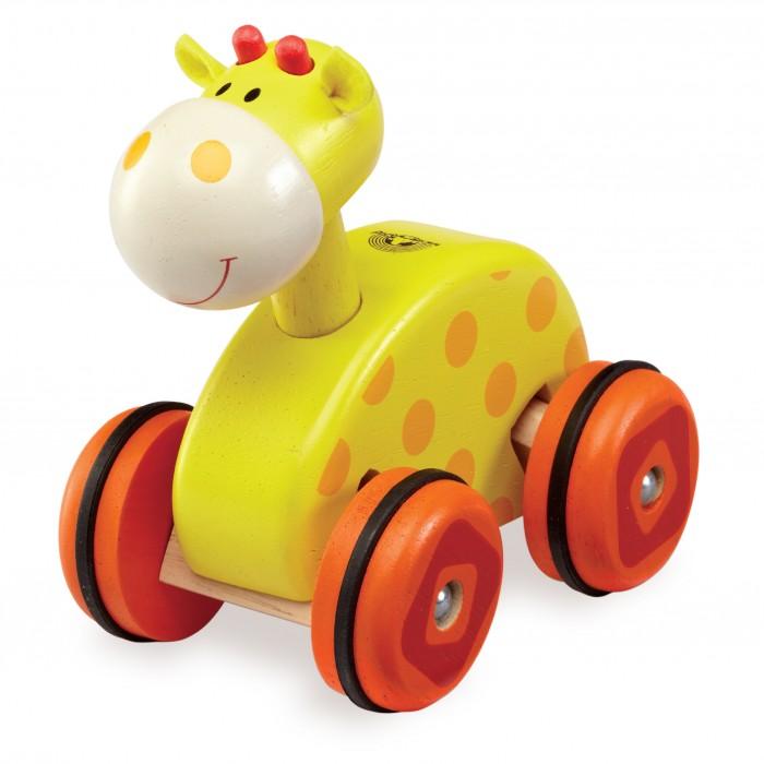 Каталки-игрушки Wonderworld Жираф каталки игрушки wonderworld поезд на веревочке