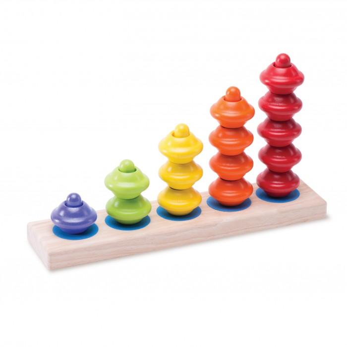 Деревянные игрушки Wonderworld Гибкие Башенки каталки игрушки wonderworld поезд на веревочке