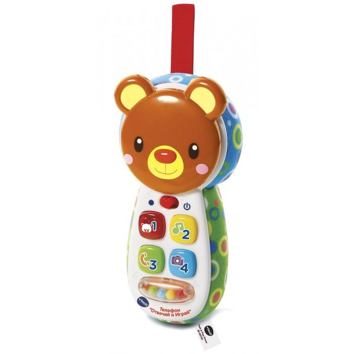 Развивающие игрушки Vtech Детский телефон Отвечай и играй, Развивающие игрушки - артикул:447099