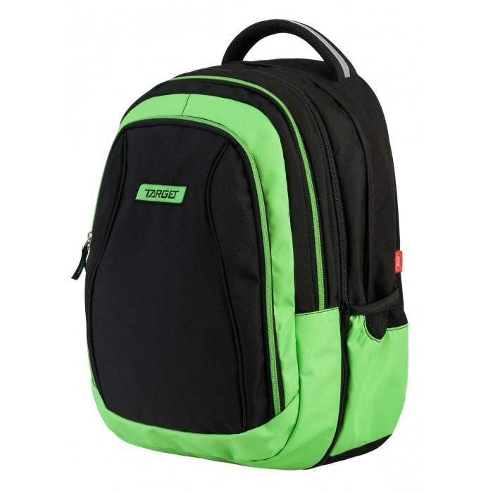 Развитие и школа , Школьные рюкзаки Target Collection Рюкзак Green apple 2 в 1 арт: 447169 -  Школьные рюкзаки