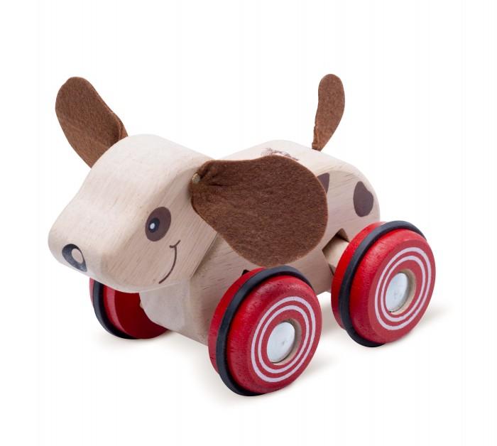 Деревянные игрушки Wonderworld Щенок на колесах каталки игрушки wonderworld поезд на веревочке