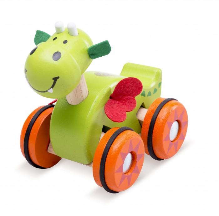 Деревянные игрушки Wonderworld Дракоша на колесах автодома на колесах бу купить в испании