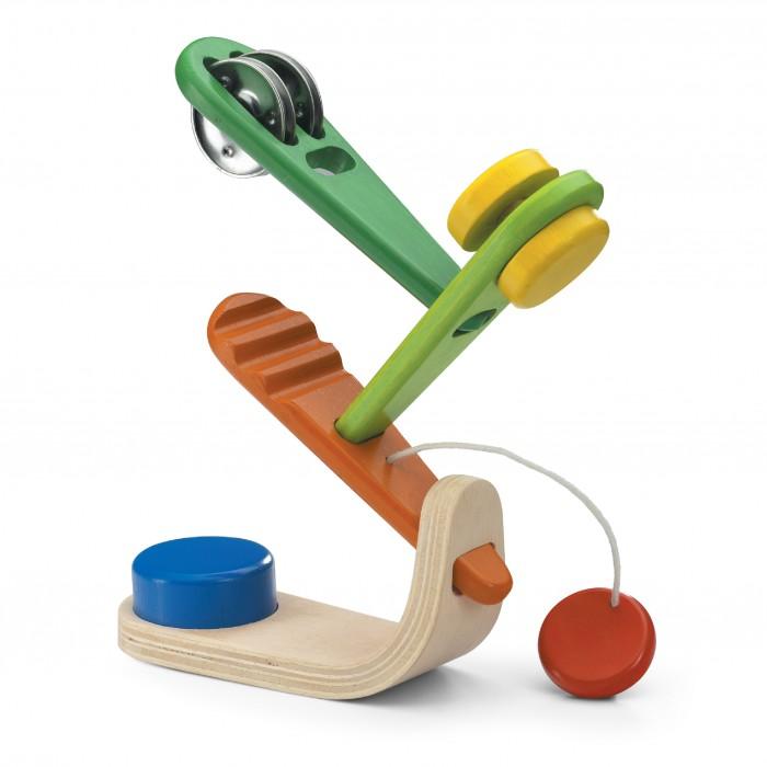 Деревянные игрушки Wonderworld Музыкальное дерево каталки игрушки wonderworld поезд на веревочке