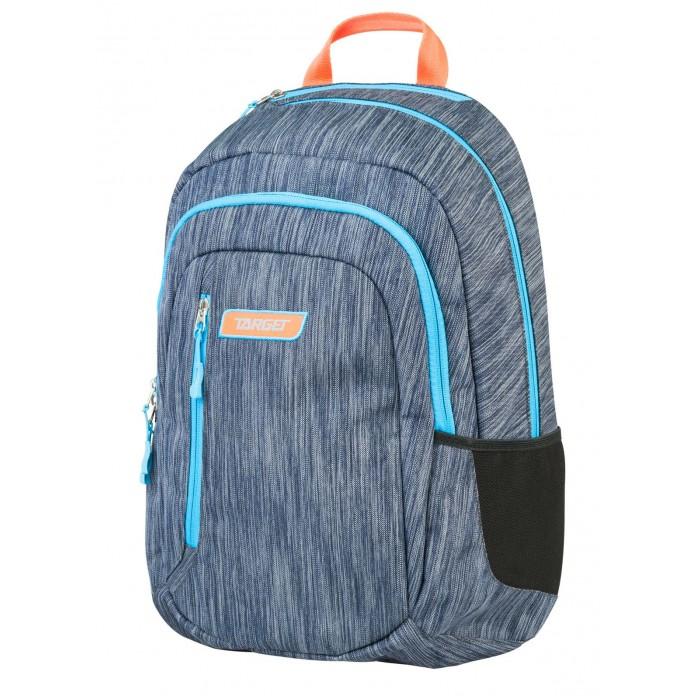 Развитие и школа , Школьные рюкзаки Target Collection Рюкзак 2 zip Титаниум арт: 447339 -  Школьные рюкзаки