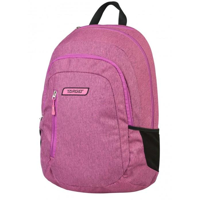 Развитие и школа , Школьные рюкзаки Target Collection Рюкзак 2 zip Орхидея арт: 447349 -  Школьные рюкзаки