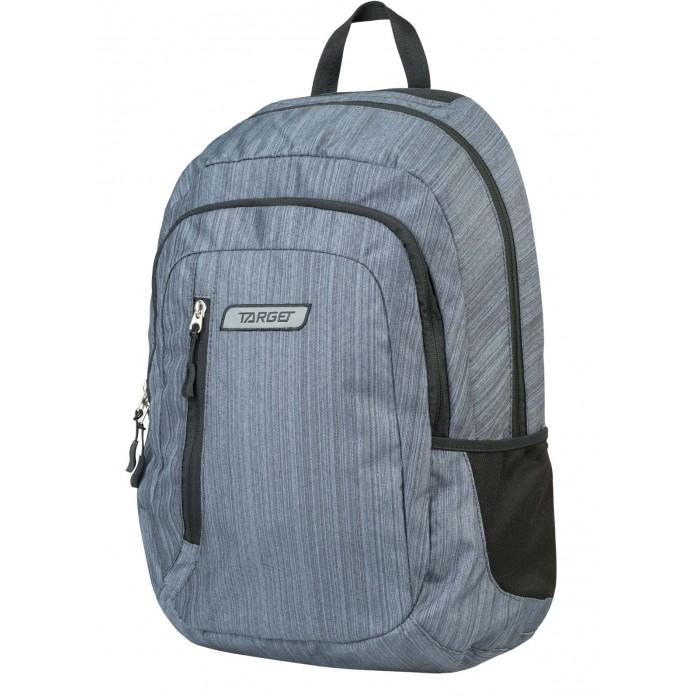 Развитие и школа , Школьные рюкзаки Target Collection Рюкзак 2 zip Цинк арт: 447354 -  Школьные рюкзаки