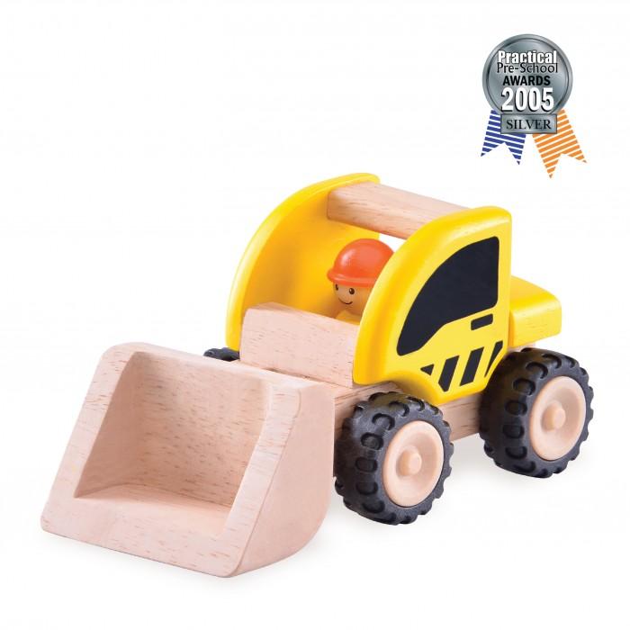 Деревянные игрушки Wonderworld Погрузчик Miniworld деревянные игрушки wonderworld трактор му му с прицепом miniworld