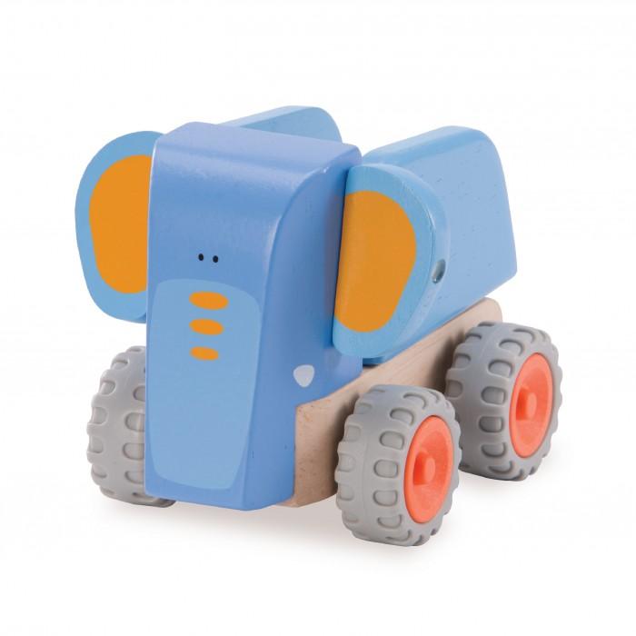 Деревянные игрушки Wonderworld Самосвал-Слоненок Miniworld деревянные игрушки wonderworld трактор му му с прицепом miniworld