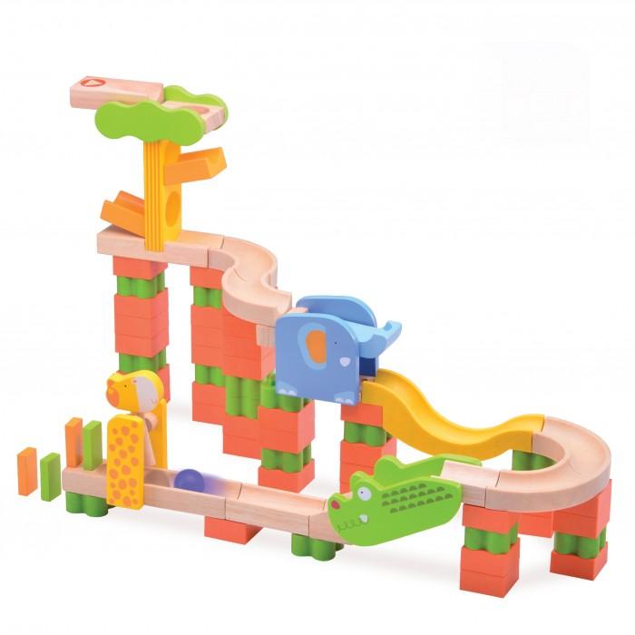 Деревянная игрушка Wonderworld Конструктор динамический Trix Track Сафари Трек