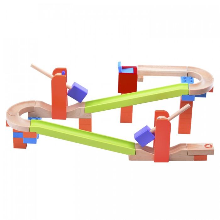 Деревянные игрушки Wonderworld Конструктор динамический Trix Track Трек Разгон наверх! каталки игрушки wonderworld поезд на веревочке