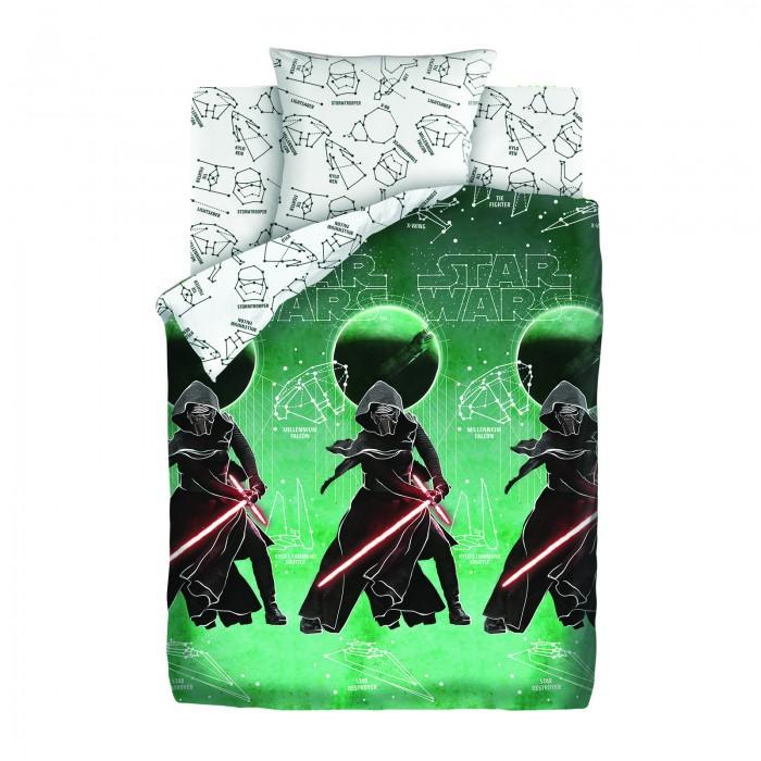 Постельное белье 1.5-спальное Непоседа Star Wars Neon Созвездия 1.5-спальное (3 предмета) покрывало детское непоседа непоседа покрывало star wars стеганое чубакка