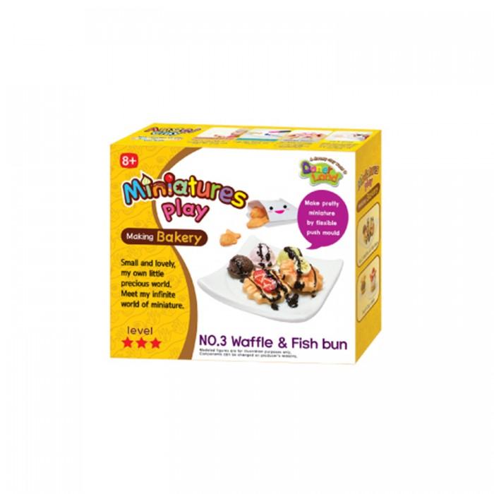 Всё для лепки Miniatures Play Набор для лепки Сладкие вафли масса для лепки candy clay набор конфетки