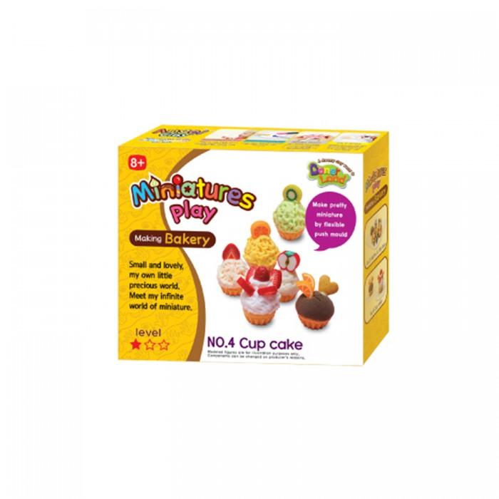 Всё для лепки Miniatures Play Набор для лепки Кексы масса для лепки candy clay набор конфетки