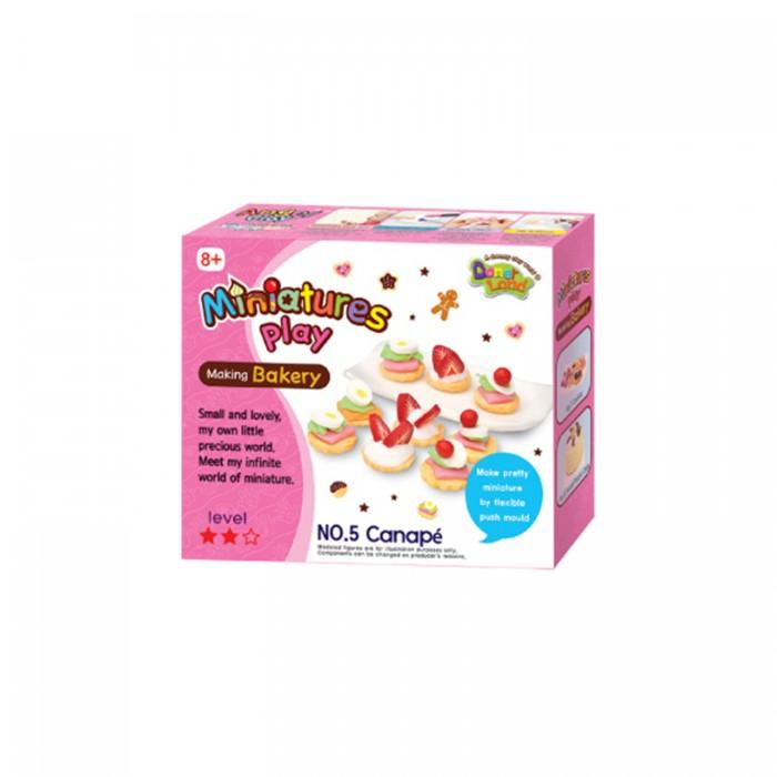 Всё для лепки Miniatures Play Набор для лепки Канапе hasbro play doh игровой набор из 3 цветов цвета в ассортименте с 2 лет
