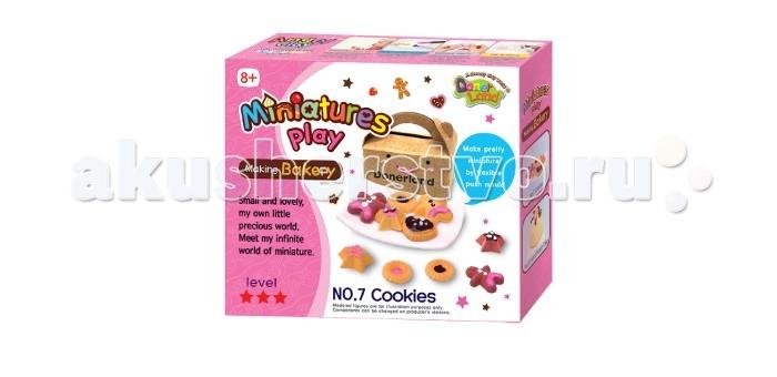 Всё для лепки Miniatures Play Набор для лепки Печенье hasbro play doh игровой набор из 3 цветов цвета в ассортименте с 2 лет