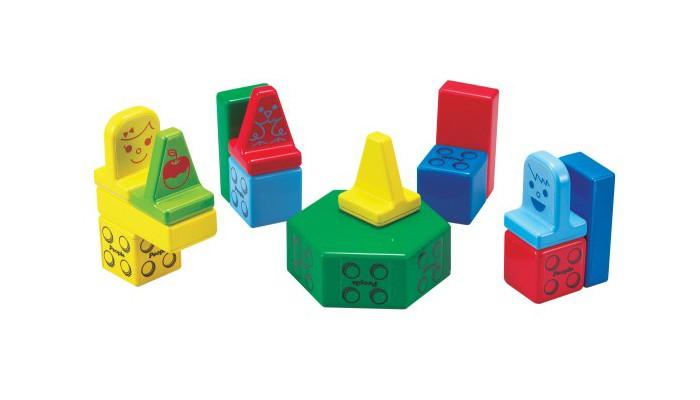 Развивающая игрушка People Набор кубиков Block (31 шт.) и Игровой коврик