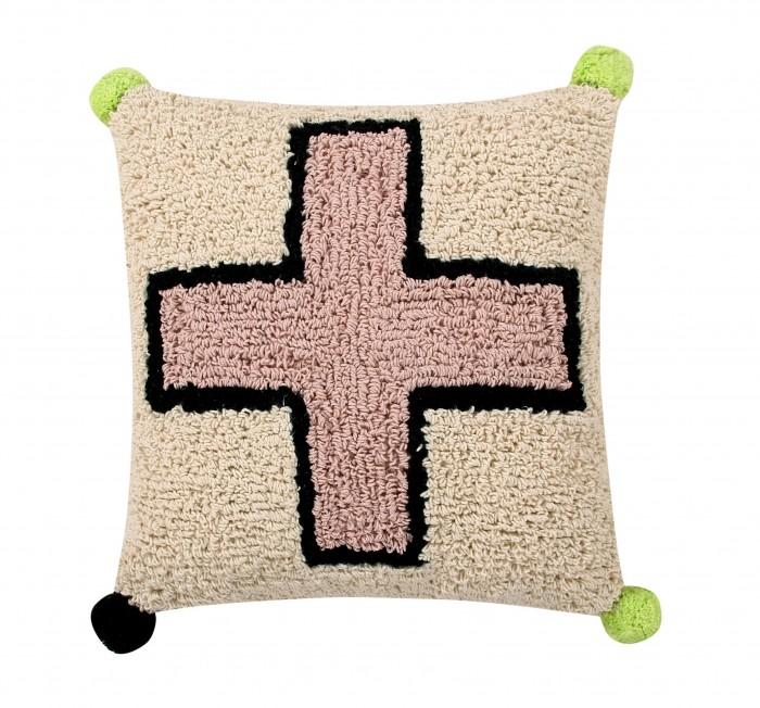 Постельные принадлежности , Подушки для малыша Lorena Canals Подушка Крест 38х38 см арт: 448789 -  Подушки для малыша