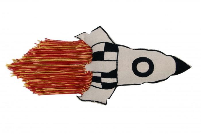 Подушки для малыша Lorena Canals Подушка Ракета 65х30 см, Подушки для малыша - артикул:448929