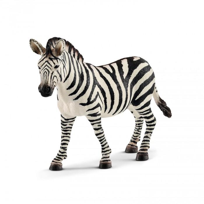 Игровые фигурки Schleich Игровая фигурка Кобыла зебры schleich фигурка кобыла пинто цвет молочный коричневый