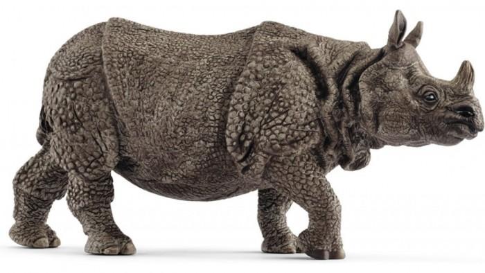 Игровые фигурки Schleich Игровая фигурка Индийский носорог игровые фигурки schleich игровая фигурка северо шотландская корова