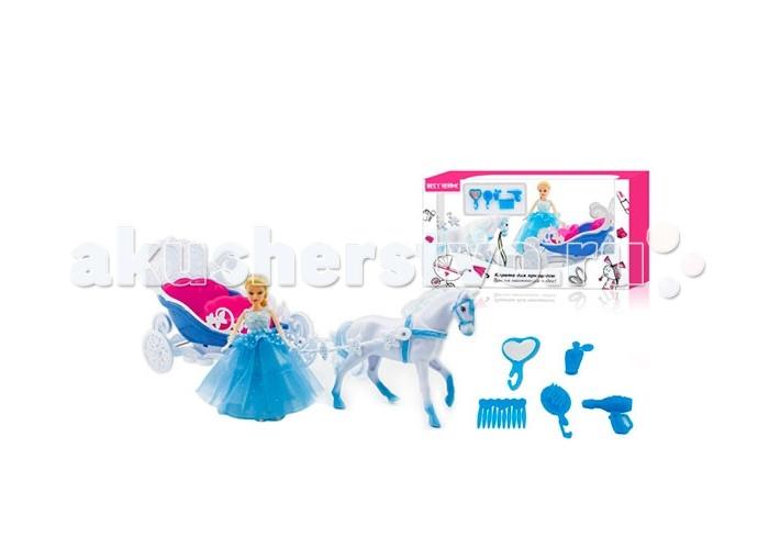 Игровые наборы S+S Toys Набор Принцесса в карете игровые наборы s s игровой набор салон красоты