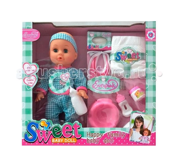 Куклы и одежда для кукол S+S Toys Пупс с аксессуарами 20007880 куклы s s функциональная кукла