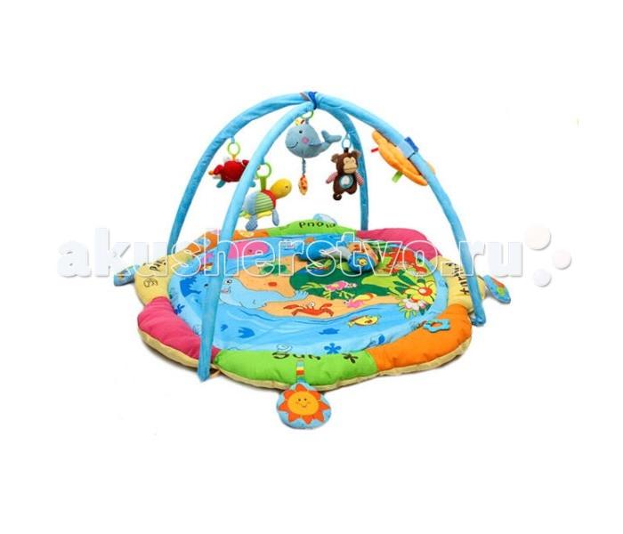 Развивающие коврики S+S Toys 100960005 развивающие игрушки tolo toys пещерный мальчик