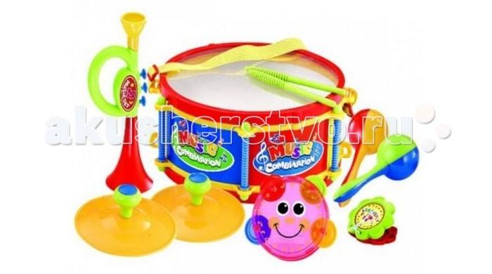 Музыкальные игрушки S+S Toys Музыкальные инструменты 100626618 детские компьютеры s s музыкальные зверята