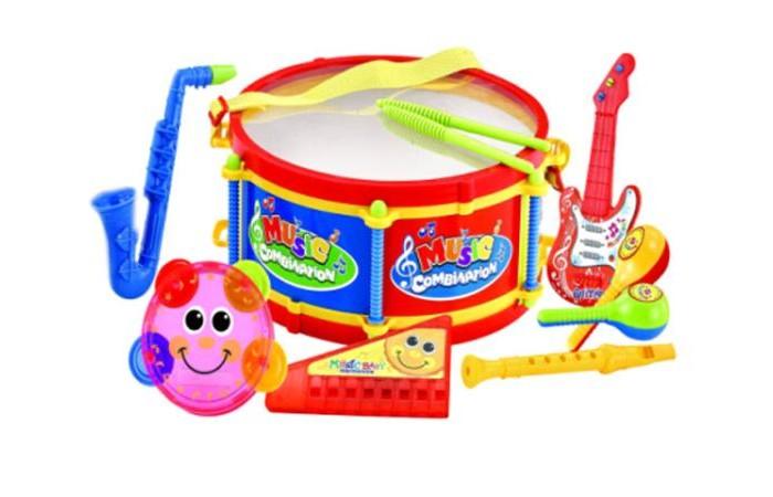 Музыкальные игрушки S+S Toys Музыкальные инструменты 100899341 детские компьютеры s s музыкальные зверята