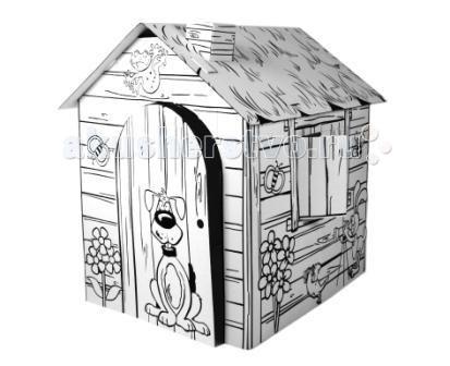 Игровые домики CartonHouse Картонный раскраска Веселая Ферма, Игровые домики - артикул:44983
