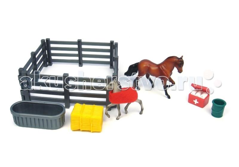 Игровые фигурки Breyer Игровой набор Госпиталь: первая помощь игровые наборы tomy игровой набор приключения трактора джонни и лошади на ферме
