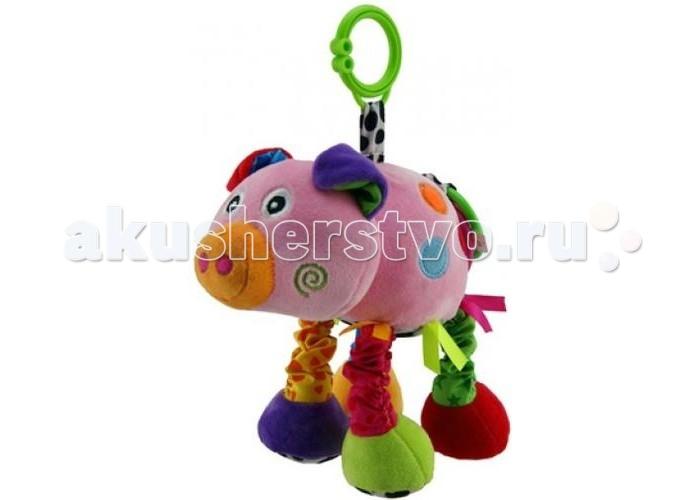 Подвесные игрушки S+S Toys Хрюшка игрушки для ванны tolo toys набор ведерок квадратные